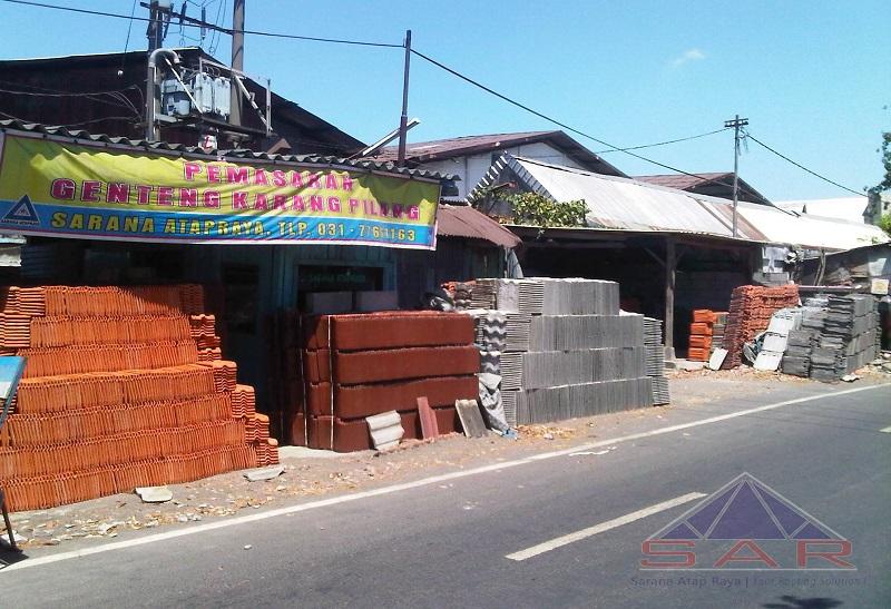 toko genteng terlengkap di surabaya, distributor genteng surabaya, jual genteng kia, karang pilang, kanmuri, m-class