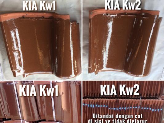 perbedaan genteng kia kw1 dan kw2